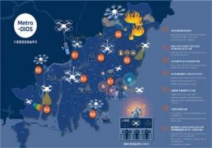 부산광역시, 드론 활용한 스마트산림관리 체계 돌입