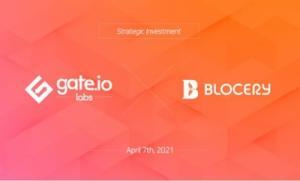 블로서리, 글로벌 거래소 'Gate.io Labs' 투자유치 성공… Gate.io 상장 예정