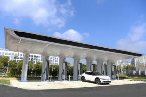 현대자동차그룹, 전기차 초고속 충전소 '송도 현대프리미엄아울렛 E-pit' 개소